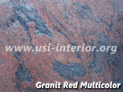Granit Red Multicolor